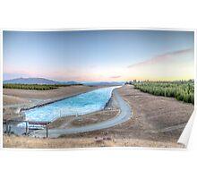 Sunset Hues Lake Pukaki Poster
