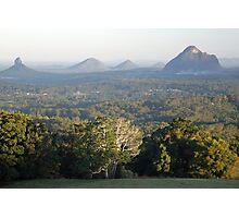 Glass House Mountains Photographic Print