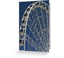 Brisbane Wheel Greeting Card