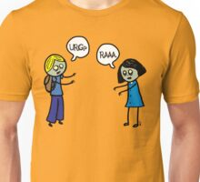 Zombies asking for directions. Unisex T-Shirt