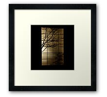 Perfect Silhouette  Framed Print