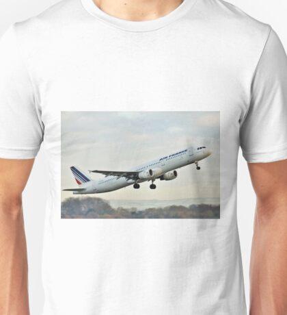 F-GTAV Airbus A321 Air France Unisex T-Shirt