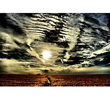 Apocalyptic sky  Photographic Print