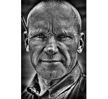 Honest Man Photographic Print