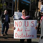"""""""No US Aid for Dictators"""" by Leyla Hur"""