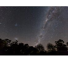 Milky Way From The Backyard Photographic Print