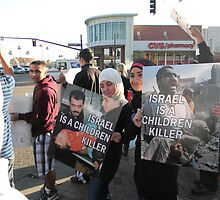 """Israel Is A Child Killer"" by Leyla Hur"