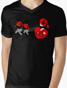 I love kpop txt reindeer snowman vector graphic art Mens V-Neck T-Shirt