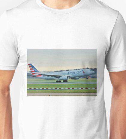 N292AY Airbus A330 Unisex T-Shirt
