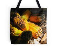 fallen pandanus fruit Tote Bag