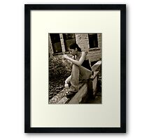 Capturing the Moment Framed Print