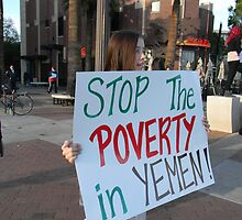 """Stop the Poverty in Yemen"" by Leyla Hur"