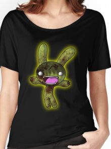 Tombie the Zombie Bunny Women's Relaxed Fit T-Shirt