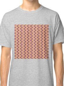 Seamless Chevron Pattern Classic T-Shirt