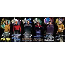 Star Trek - All The Captains Photographic Print