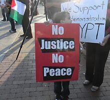 """""""No Justice No Peace"""" by Leyla Hur"""