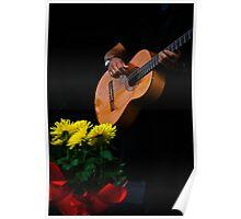Flores y Musica ♪♫♫♪ Poster
