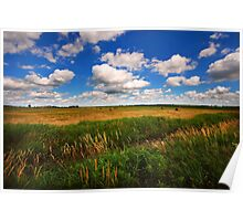 Big Country Sky Poster