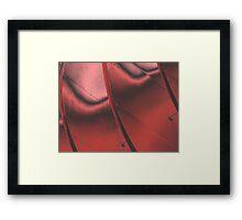 Tortured Red Framed Print