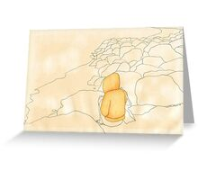 Kirrily Anderson's 'On The Rocks' Greeting Card