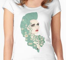 Antheia: Goddess of Flowers and Wreaths Women's Fitted Scoop T-Shirt