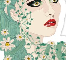 Antheia: Goddess of Flowers and Wreaths Sticker
