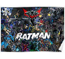 Batman - Batmen through history Poster