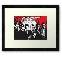 James Bond 007 (All) Framed Print