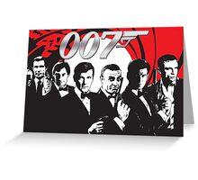 James Bond 007 (All) Greeting Card