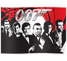 James Bond 007 (All) Poster