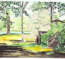 Back yard by glorylane