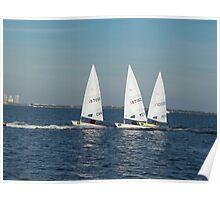 sailboat race Poster