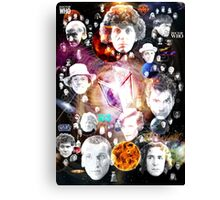 Doctor Whos, Companians, and Enemies Canvas Print
