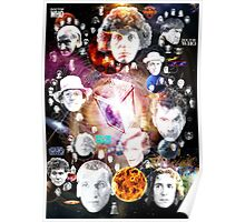 Doctor Whos, Companians, and Enemies Poster