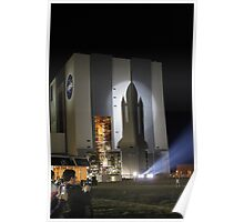 Shuttle Shadow Poster