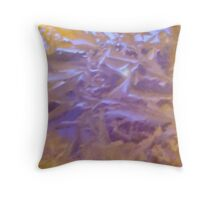 Crystal Abstract 1 Throw Pillow