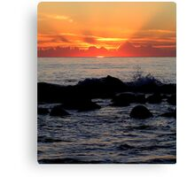 First Rays Canvas Print