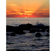 First Rays Photographic Print