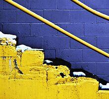 Steps and Rail by David  Guidas