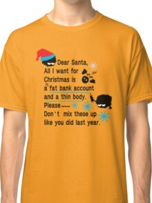 Funny new year resolutions Classic T-Shirt