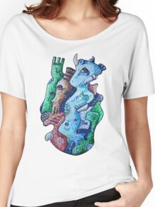 Psychedelic Animals Women's Relaxed Fit T-Shirt