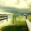 Lakes Entrance on a Stormy Afternoon by StopGo