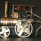 Ajax Traction Engine by Brian Cox