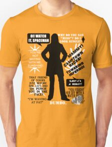 Doctor Who - Donna Noble Quotes T-Shirt