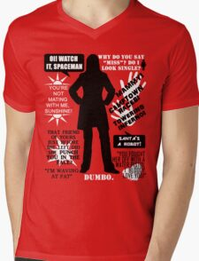 Doctor Who - Donna Noble Quotes Mens V-Neck T-Shirt