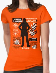 Doctor Who - Donna Noble Quotes Womens Fitted T-Shirt