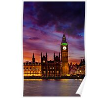 Fiery Night of the  Big Ben Poster