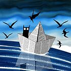 Paper Boat  by Andrew  Hitchen