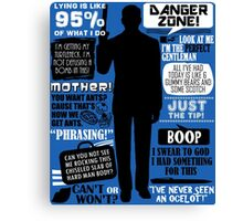 Archer - Sterling Archer Quotes Canvas Print