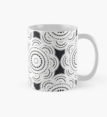 Lace pattern Mug